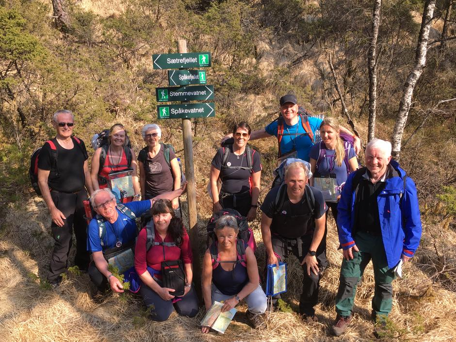 Turleiarkurs med Nordhordland Turlag - april 2018