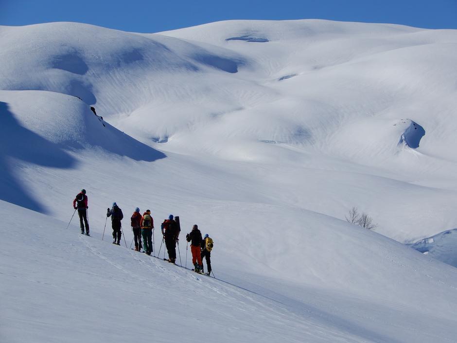 BaseCamp Vinter på Fivla