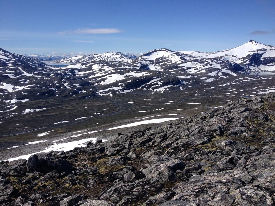 Fra Lågtunga mot Pyttbua og Tordsvatnet. 12. juni 2018