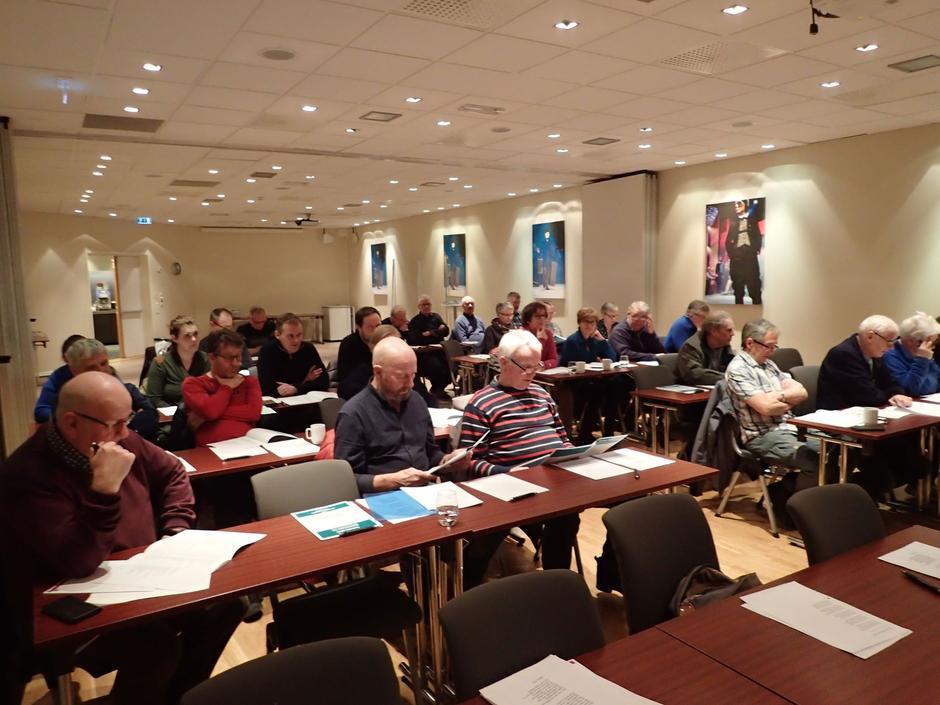 Godt oppmøte på årsmøtet til KNT