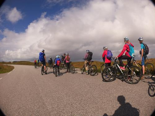Sykkeltur på øyane