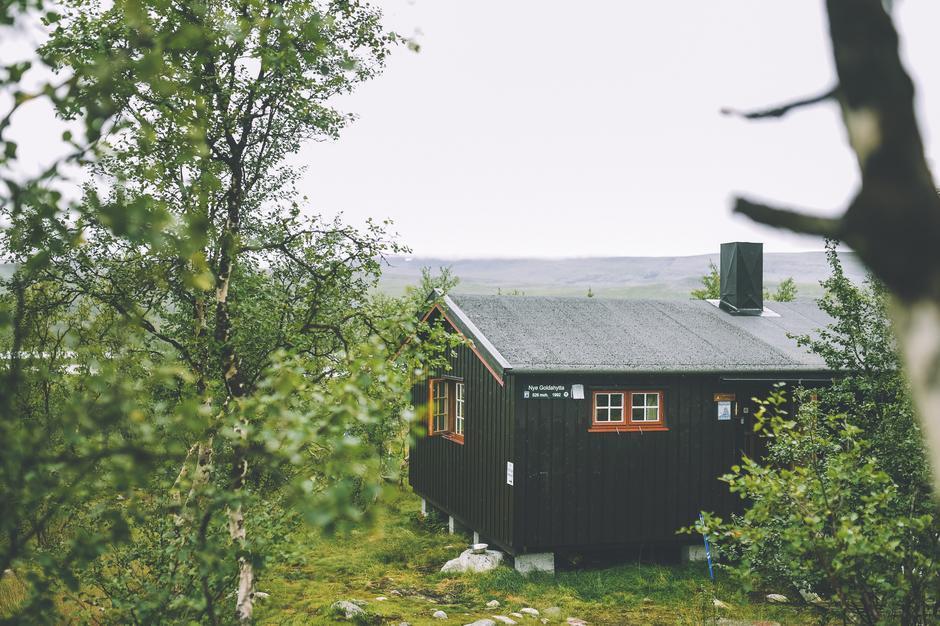 Goldahytta i Indre Troms.