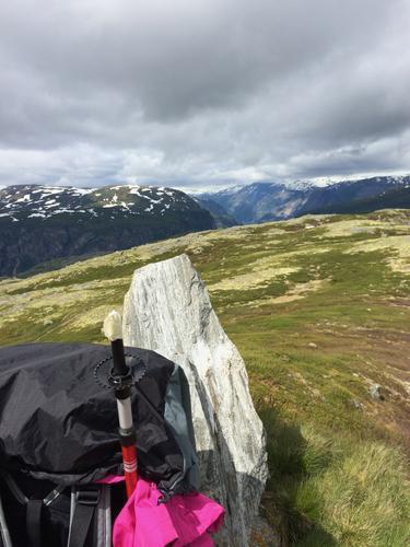 Høyt over Hardangerfjorden