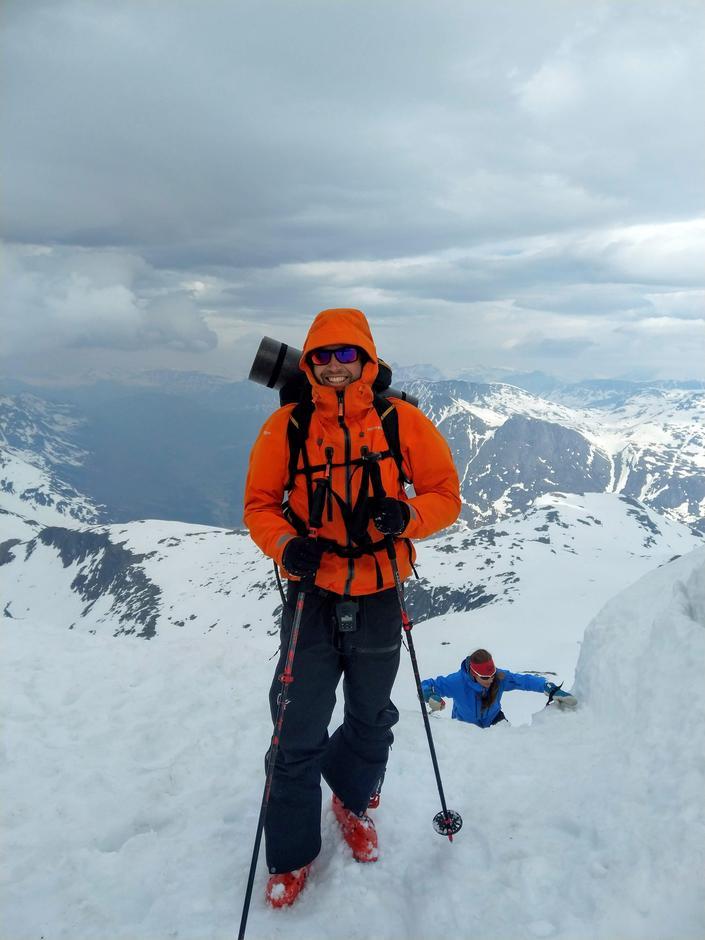Turleder, Kjell Guldstein, på toppen!
