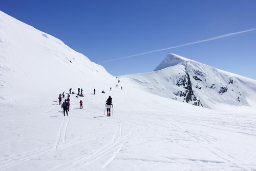 Skitur til Gravdalstind