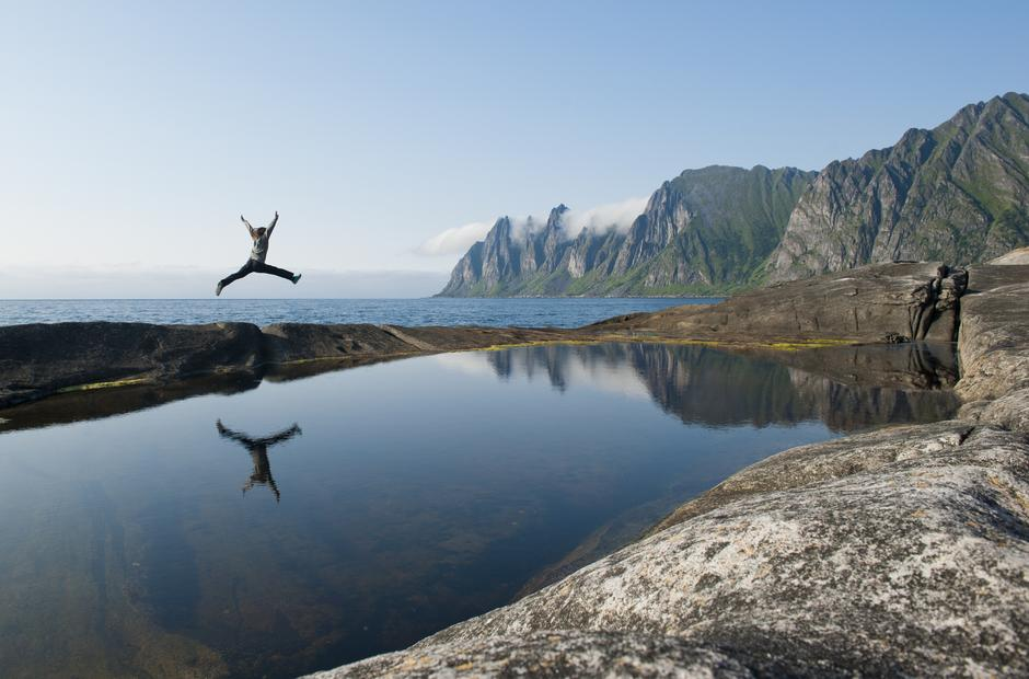 KONTRASTFYLT: Senja er Norges nest største øy og byr på naturopplevelser i verdensklasse.