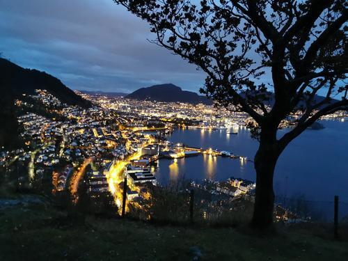 Utsikt Bergen