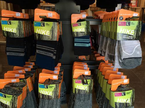 Nyheter i butikken: Nye sokker fra Icebreaker