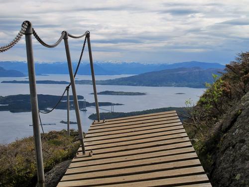 Bli med på 5- og 7-fjellsturen på Bømlo søndag 8. mai