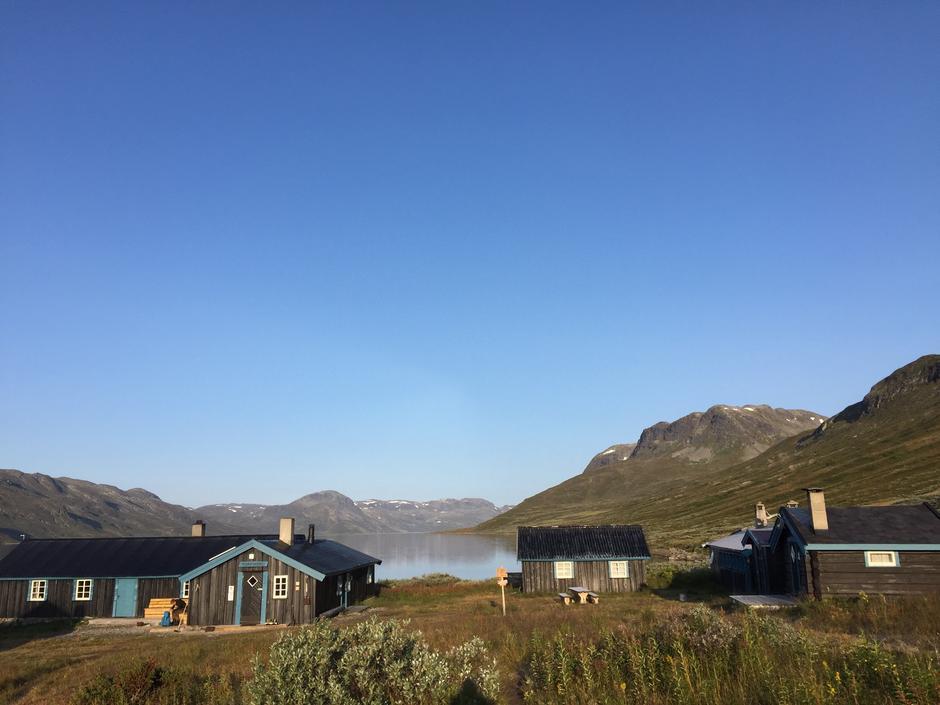 Torfinnsbu i Jotunheimen er en av hyttene som har hyttevakt