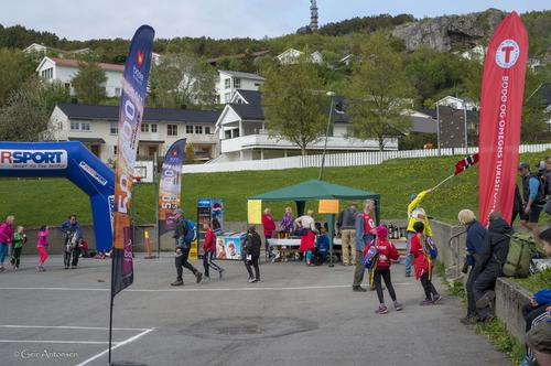 God stemning i målområdet på Rønvik Skole