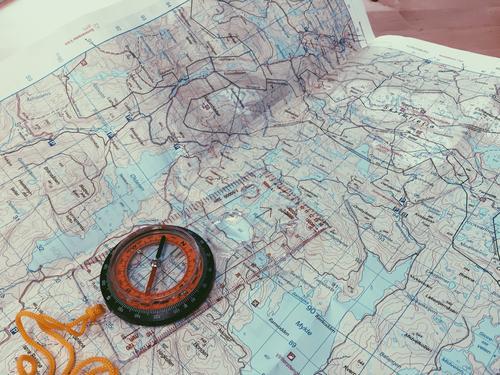 Kart kompass