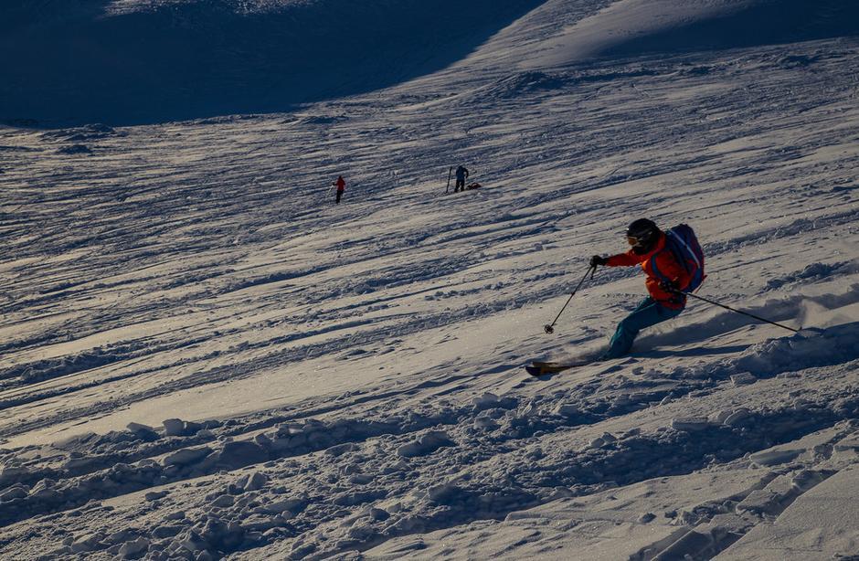 Henriette hadde kjørt ski før