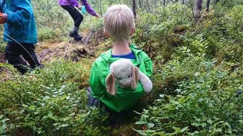 Alltid hyggeleg når bamsen får være med.