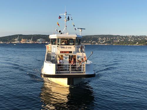 Båt i Oslofjorden