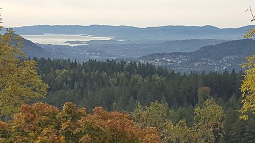 Utsikt fra Venåskollen mot Asker