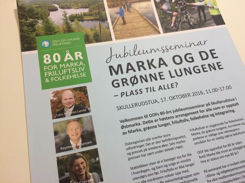 Oslo og Omland Friluftsråd - 80 år