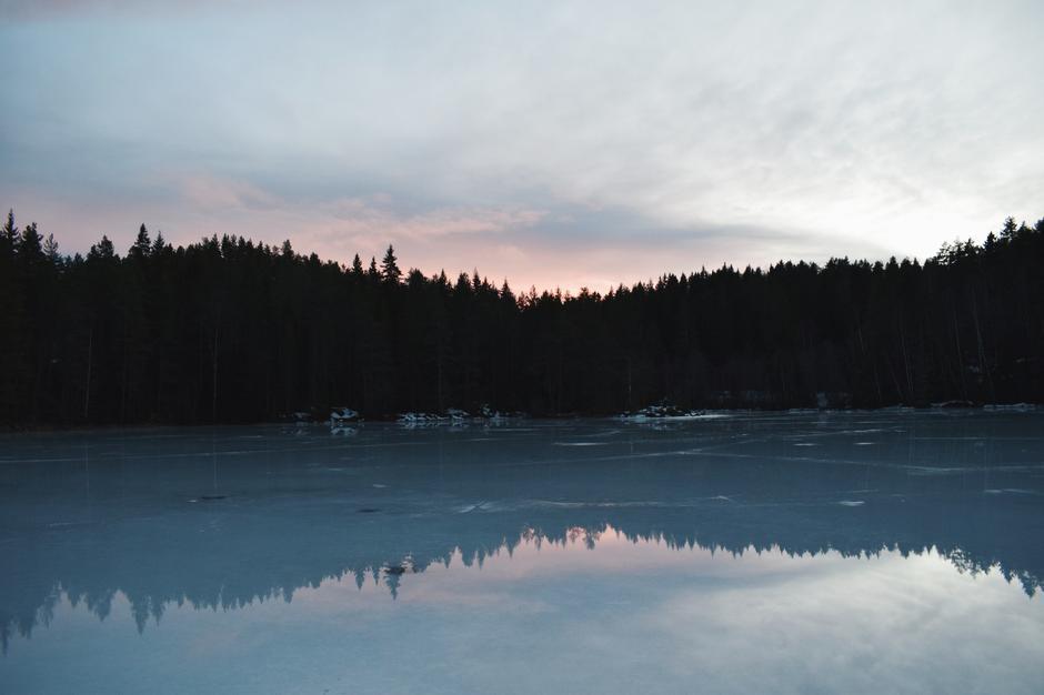 Kjennerudvannet på Kongsberg.