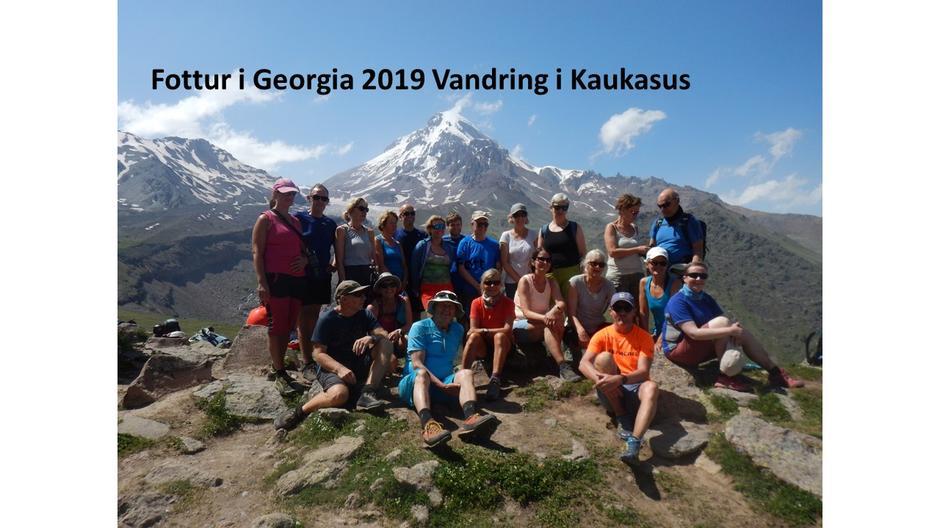 Kaukasus ved Mount Kazbeg