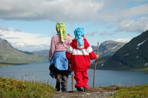 Sommarferie i fjellet gjev deg både turminne og turkameratar for livet.