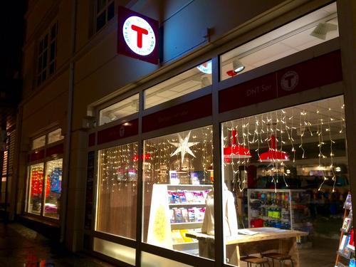 Åpningstider i turbutikken, jul og nyttår