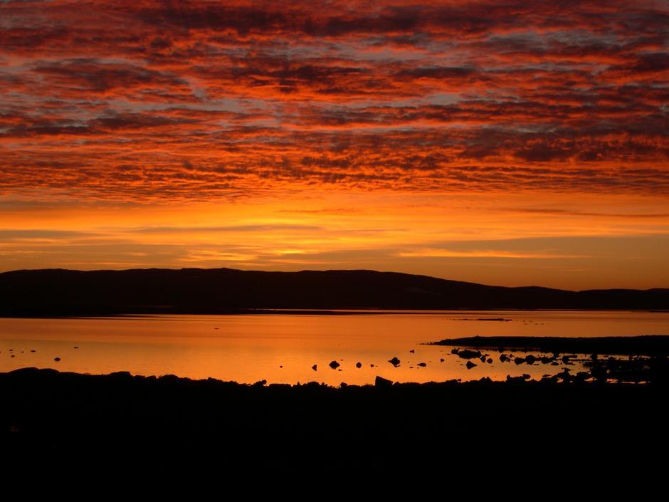 Høstkveld på Sandhaug. foto: DNT Oslo og Omegn