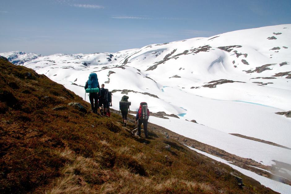 Sommerturlederkurset varte syv dager og ble holdt i Stølsheimen.
