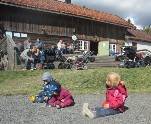 Tidligere trilletur til Nygård