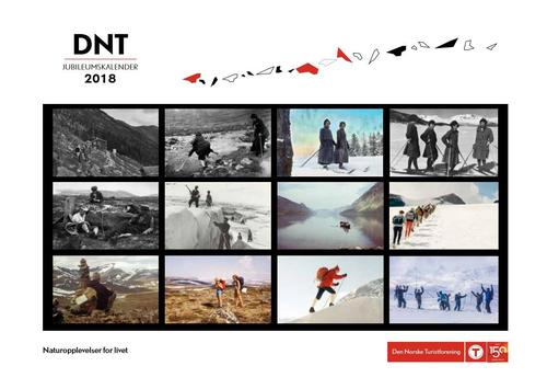 Julegavetips i Tursenteret: DNT-kalenderen 2018