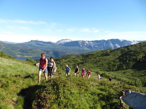 Onsdagstur til Blåfjellet i Naustdal