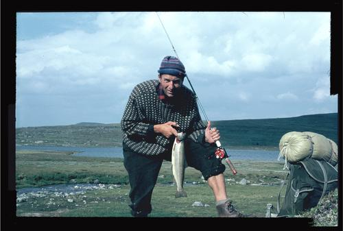 1966: Bjørn Amsrud var førstemann som gikk Norge på langs.