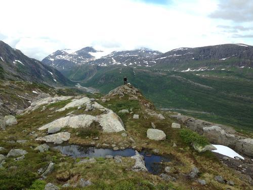 På tur over Melfjordloftan og i Vesterdalen