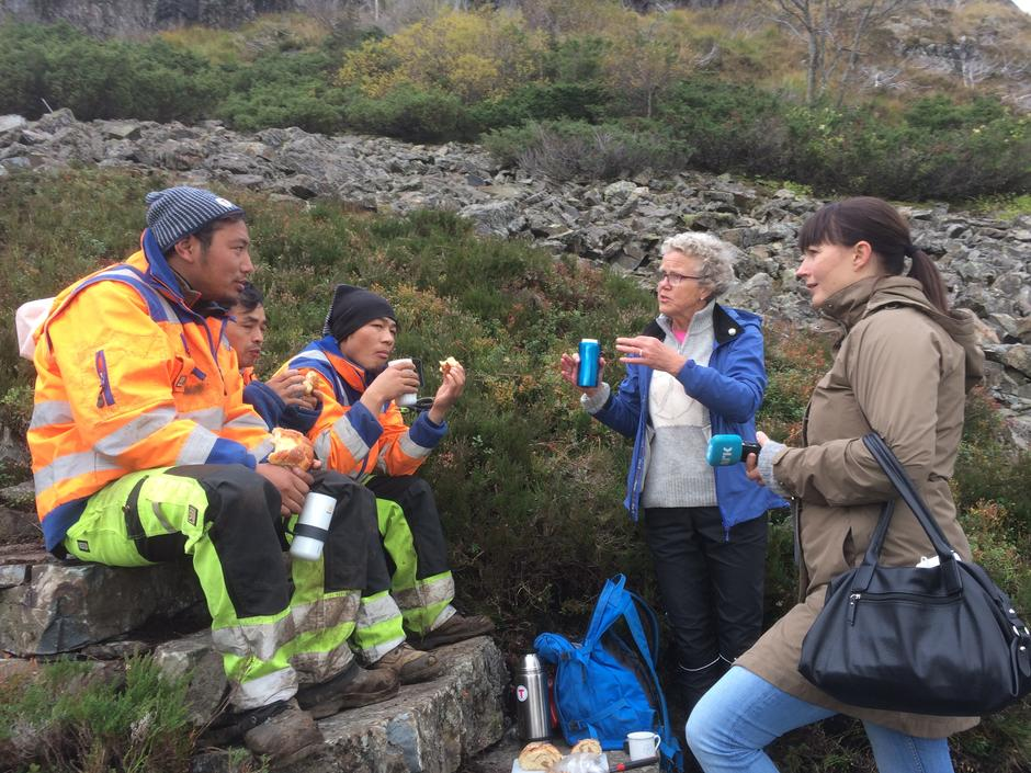 Intervju av NRK Hordaland