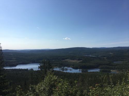 Utsikt over Øyungen fra Sellanrå, Raudløkkollen.