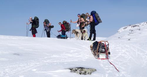 Påsketur på Hardangervidda.