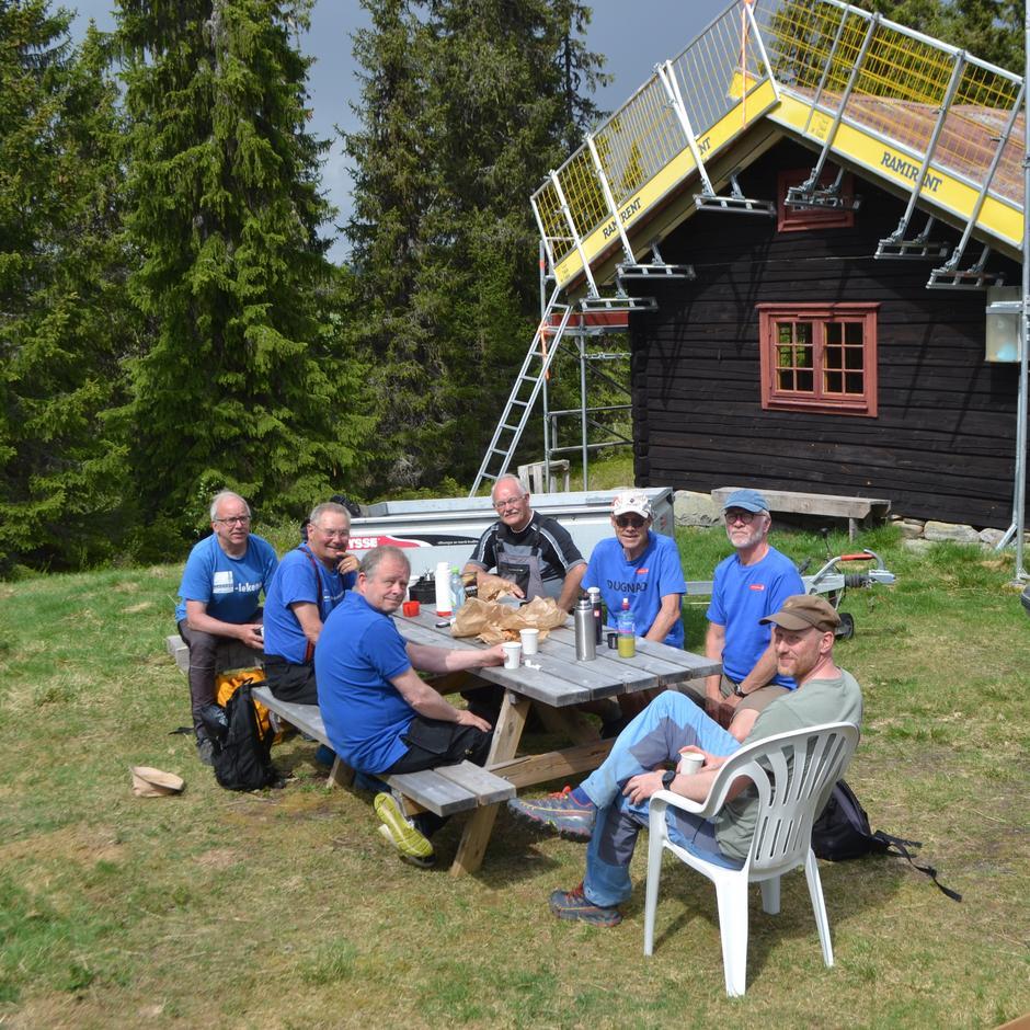 Møte med Statskog og Gausdal Allmenning på Kittilbu