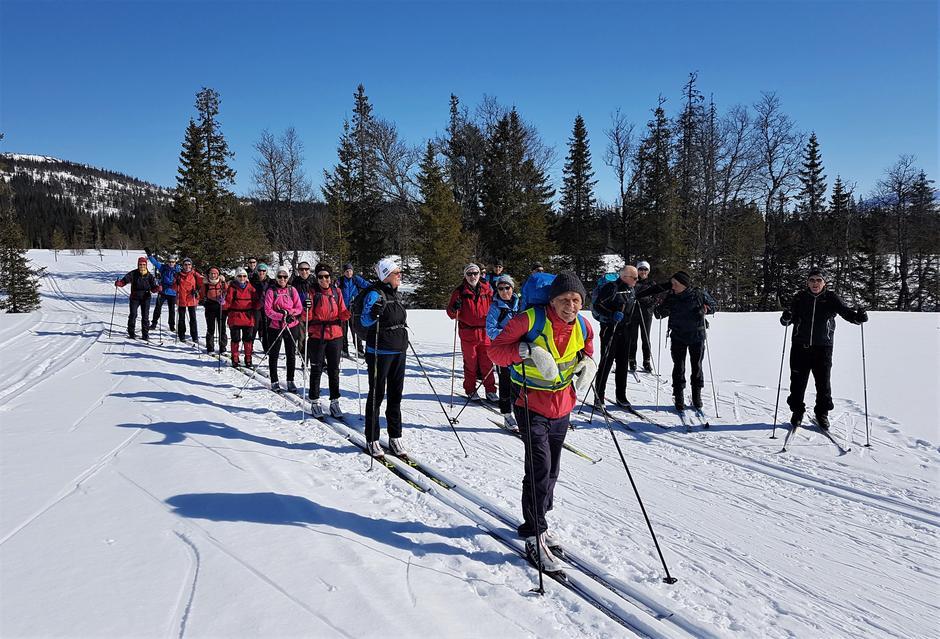 Skitur til Branokhytta