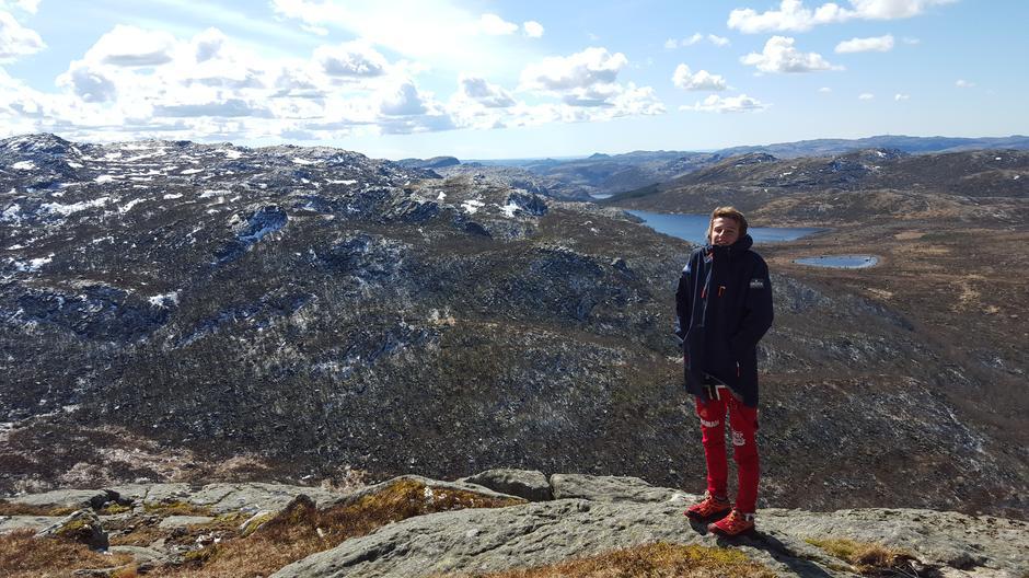 Styreleder i DNT Ung Stavanger, Torkel Reinertsen ser frem til Grønn onsdag.