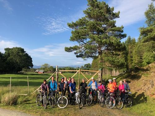 Sykkeltur på Svanøya juni 2018