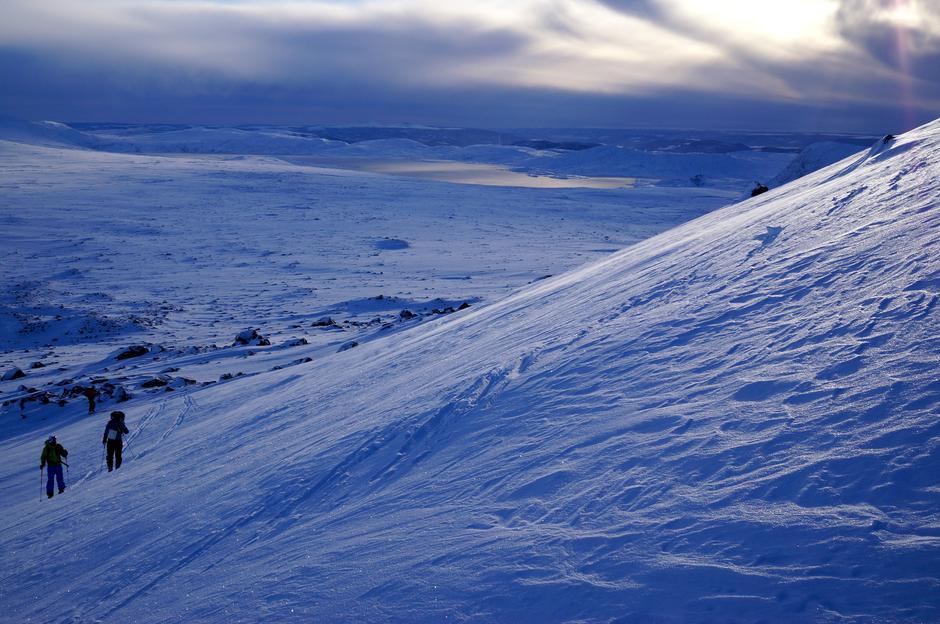 Spontantur med fjellsportgruppa til Rasletind i november 2015