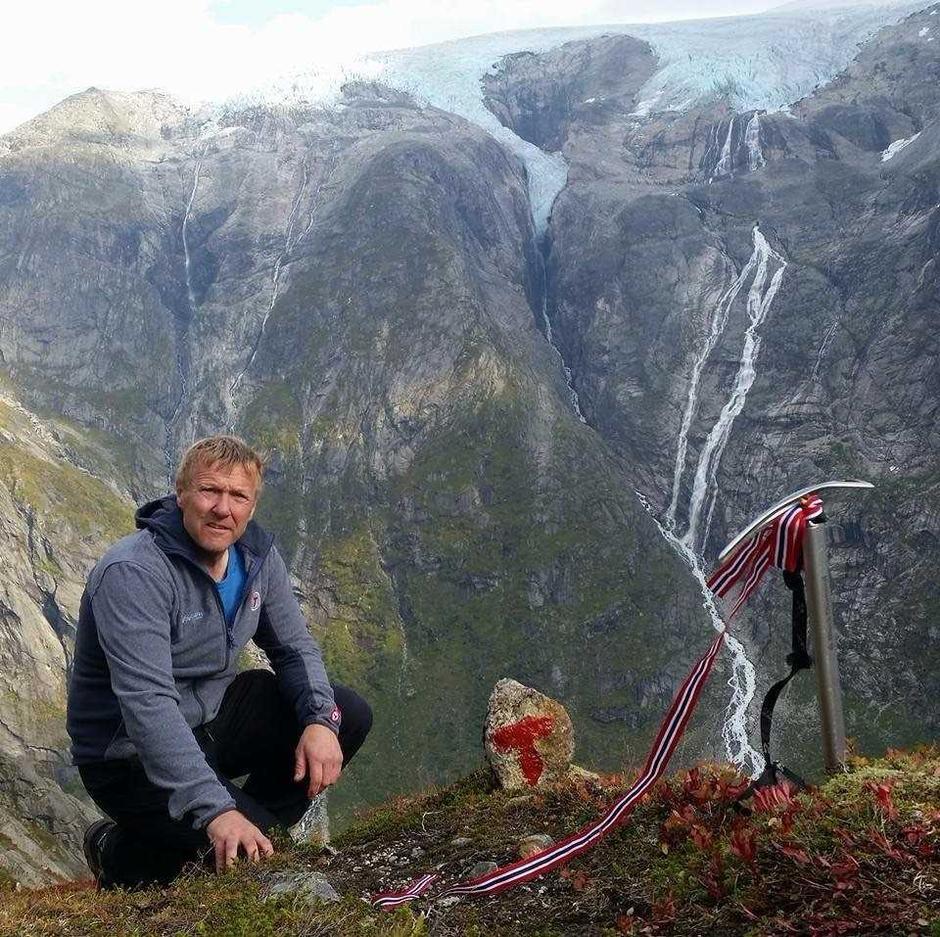 Kjell Arne Hjellbrekke, leiar i Indre Sunnfjord Turlag.