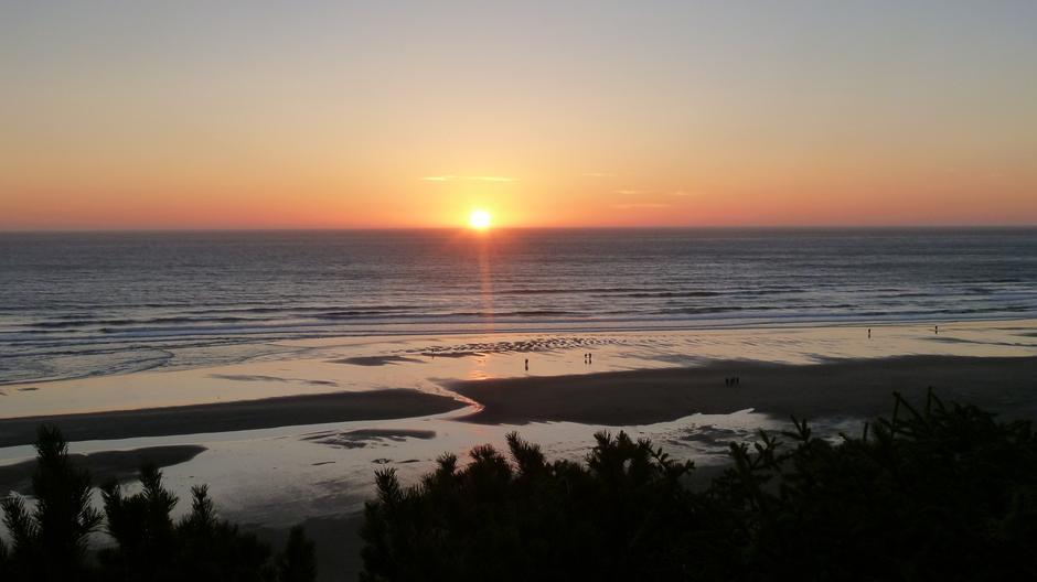 Oregon coast - sunset