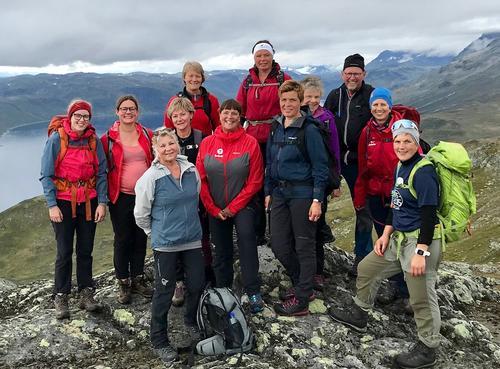 24. august var det tur til Synshorn og Heimre Fagerdalshøe