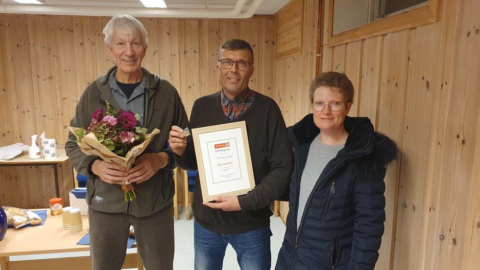 Per Stubbraaten, Alf Elling Omholt og Ingun Omholt.