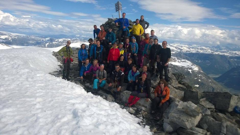 24.07.16 -  Lodalskåpa. Kunne ikkje ha fått betre ver til den majestetiske toppen Lodalskåpa 2083 m.o.h.  Takk for turen til alle som var med.
