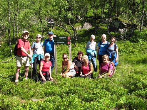 Seniortur til Trodalsvatnet
