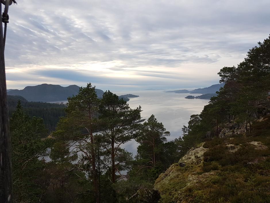 Utsikt over Åsenfjorden