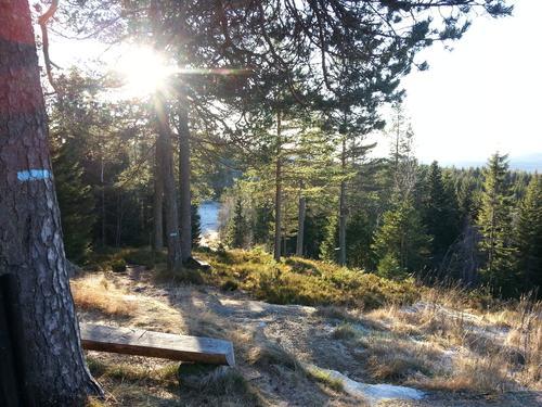 soloppgang ved Kobberhaugen, foto Ine Gulbæk