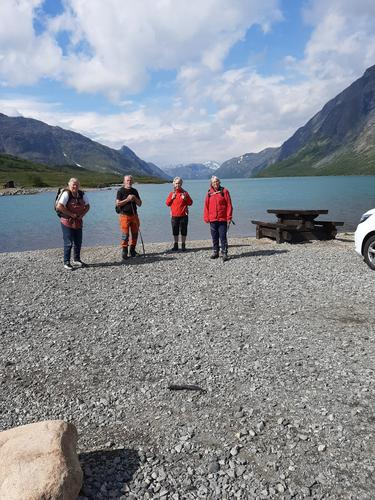 8. august hadde Seniorgruppa tur til Hamnhåmåren