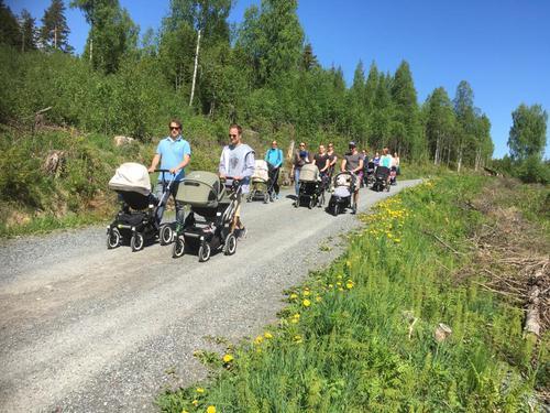 På trilletur til Bogstad Gård maj 2016